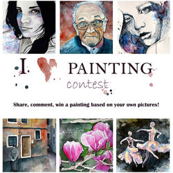 I LOVE PAINTING contest! by jane-beata