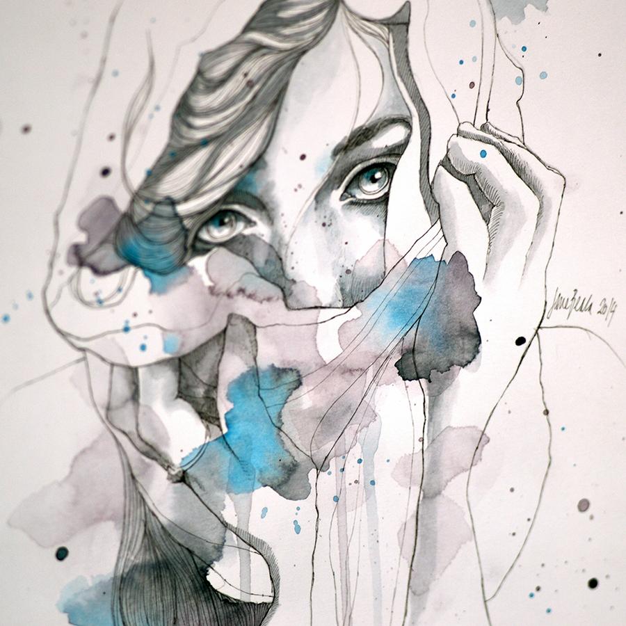 Scarf - closeup by jane-beata