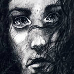 Charcoal study, detail