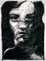 Charcoal study I by jane-beata