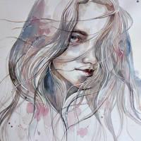 Spring 2015 in watercolor, closeup by jane-beata