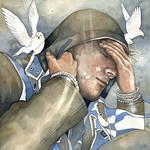 Dreams of freedom, watercolor
