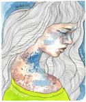 Hideout, watercolor illustration