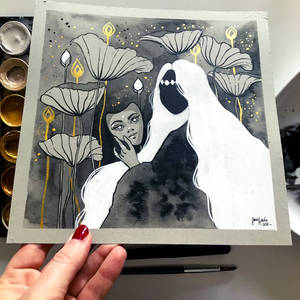 Inktober 2019, Day 22 - Ghost