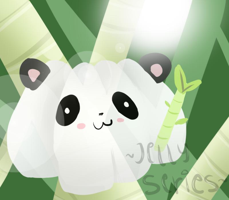 + Panda Jelly + by Apple-Neko