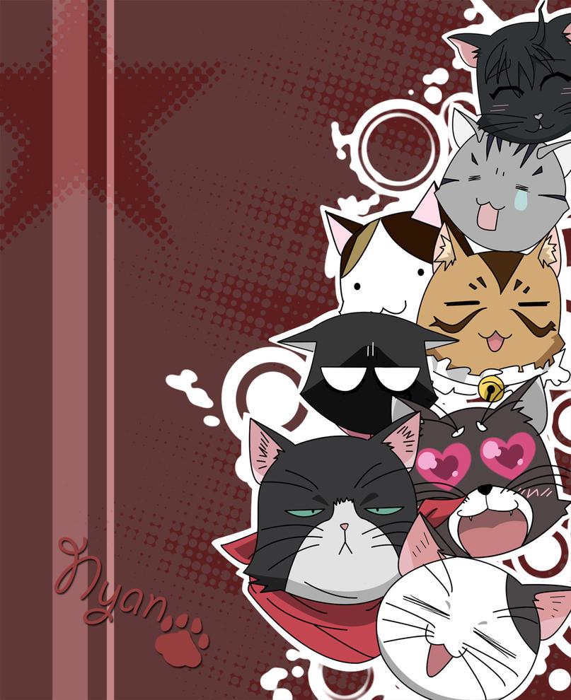 Nyan koi kitties by mimosa katsu on deviantart for Nyan koi 05 vostfr