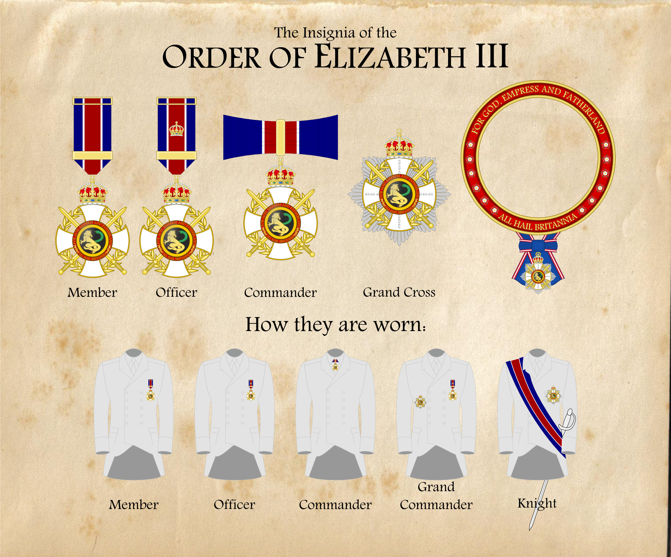 The Order of Elizabeth III by firelord-zuko