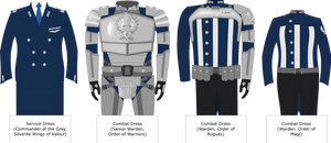 DA: Warden uniforms