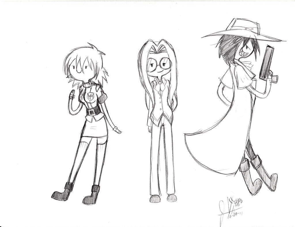 Hellsing Adventure Time by invaderwolfgirl