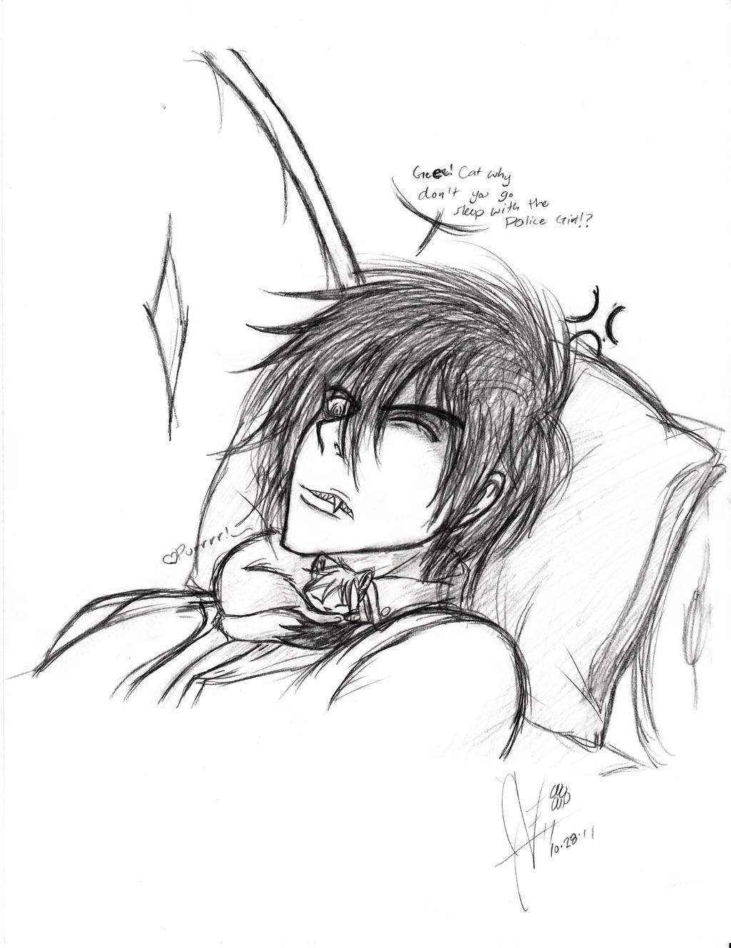 Sleepy Time... by invaderwolfgirl
