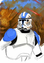 Clone Trooper by Uberlegen31