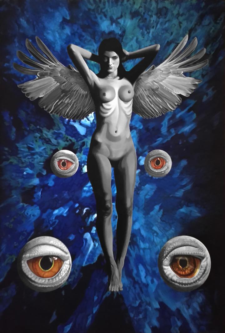 Reptalialism-My Guardian Angel by erwinpineda
