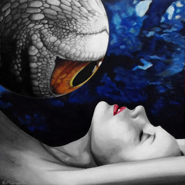 Reptalialism-Bizarre Romance by erwinpineda