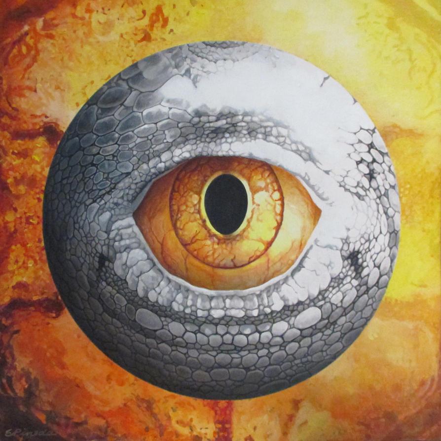 Reptalialism-Oculus Innocens by erwinpineda