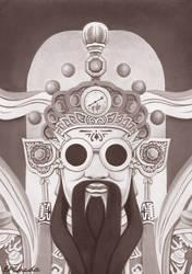 Immortal God by erwinpineda
