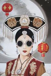 Moon Goddess by erwinpineda