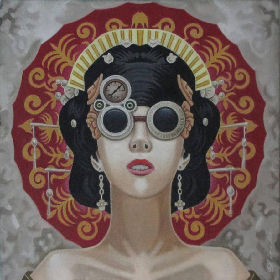 Reptalialism:Geisha III by erwinpineda