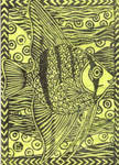 Angelfish ACEO by c-urchin