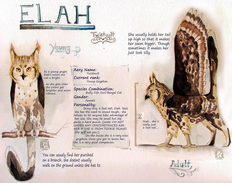 Introducing: Elah by milinkre
