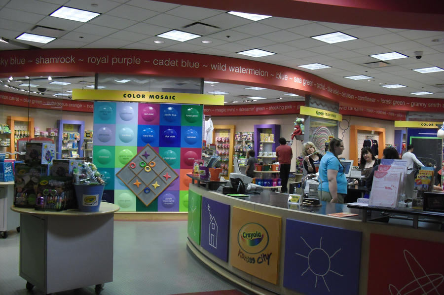 crayola store in kansas city mo by kidflash3563 on deviantart