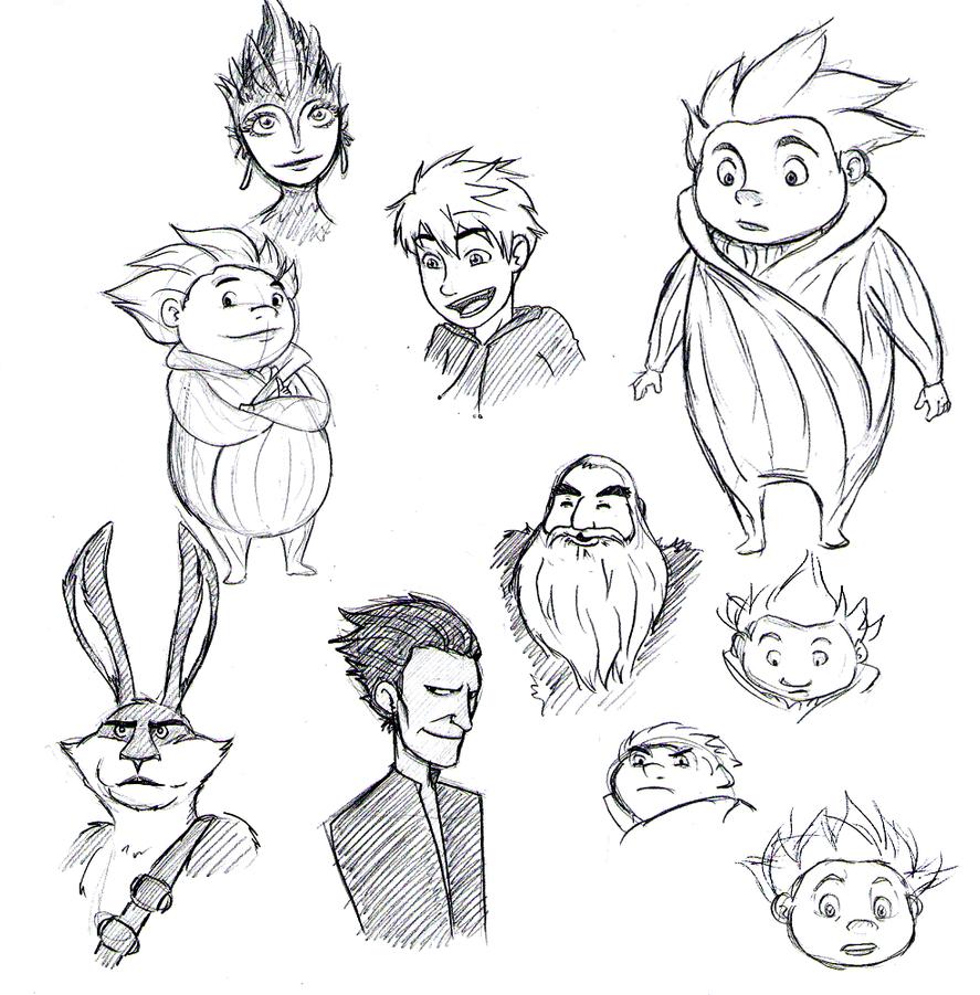ROTG Scribbles by areyouokaypanda