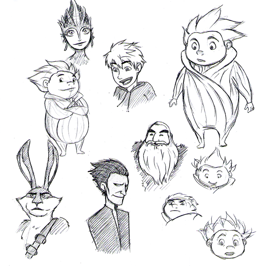 ROTG Scribbles by areyouokaypanda
