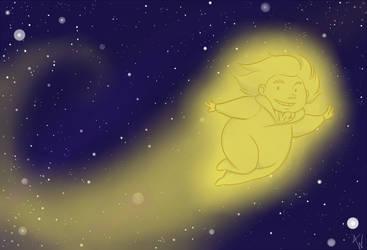 Shooting Star by areyouokaypanda
