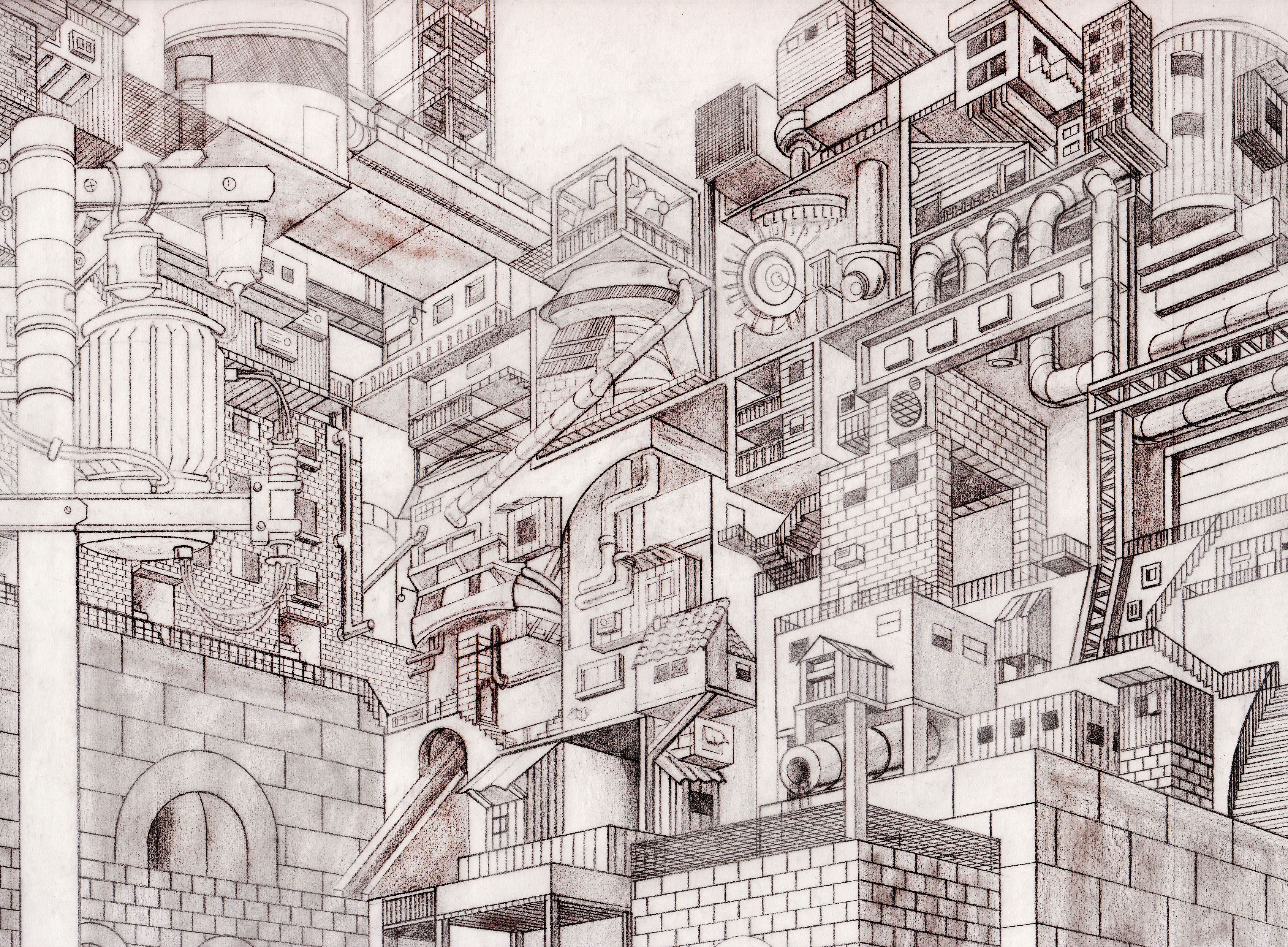 Cities on pinterest for Architecture impossible