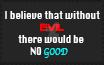 No Evil stamp by DasTierLockjaw