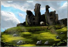 Scenario  Castle by Lukadrawing