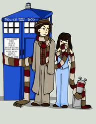 The Doctor's Scarf by Schokopocky