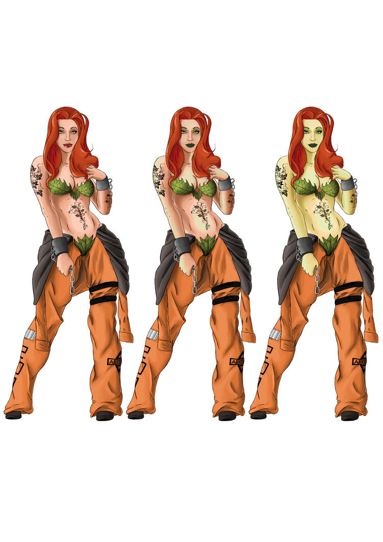 Poison Ivy Palette Swaps 3 by digital-clown
