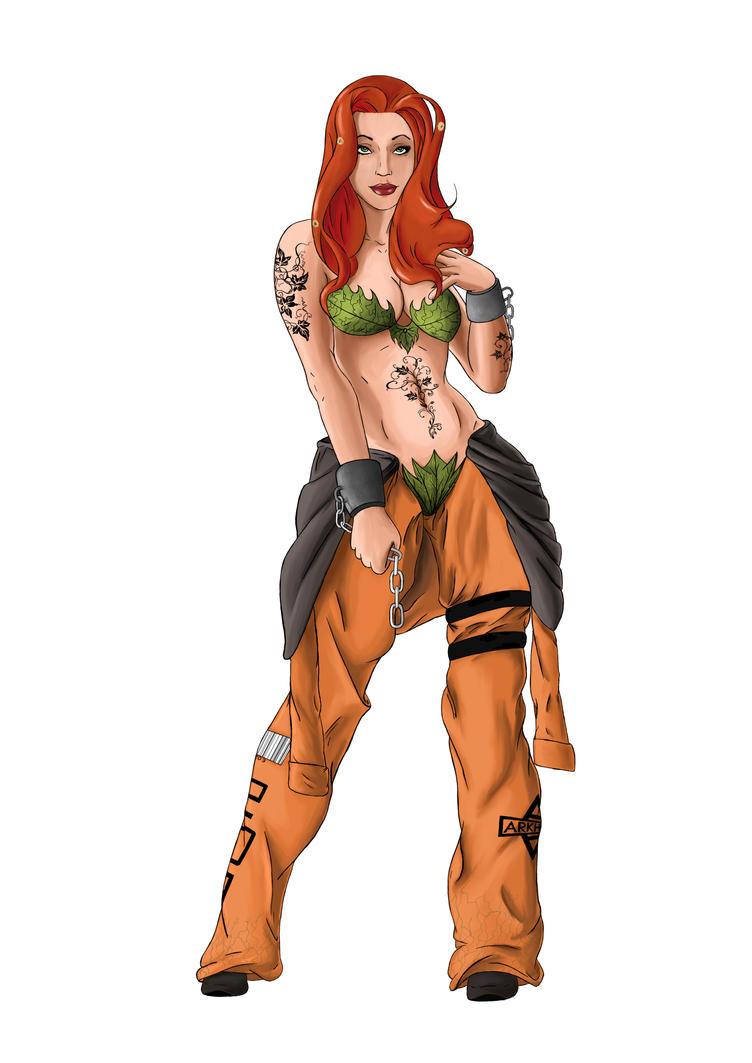 Poison Ivy Final Design by digital-clown