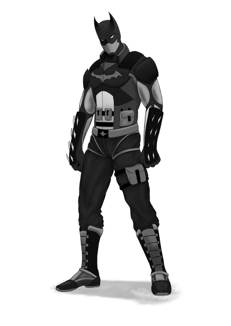 Batman Redesign by digital-clown