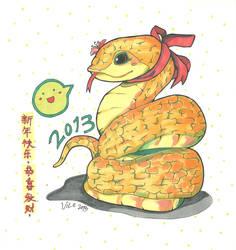 Happy Snake Year!