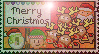 Merry Christmas 2011 stamp by miki8263