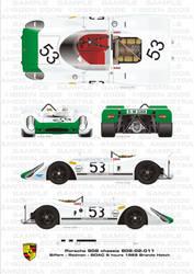 Porsche 908 Siffert-Redman by ibsenop