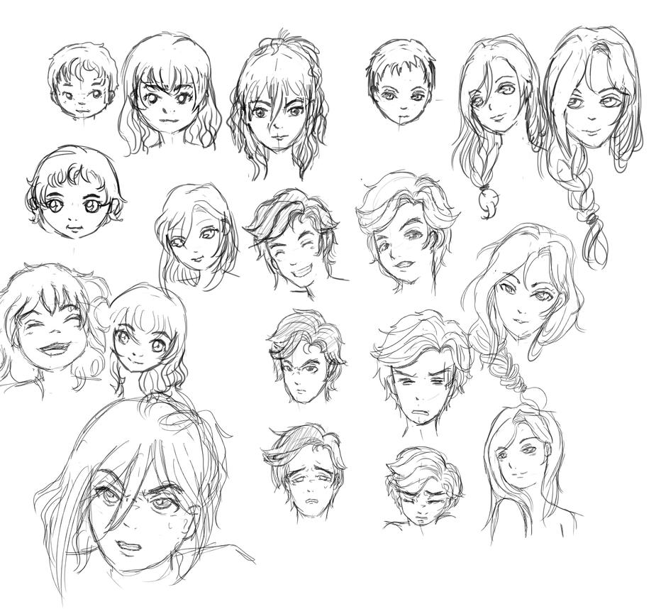 Character 23 by kimineechan