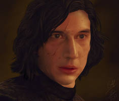 Kylo Ren offering his hand