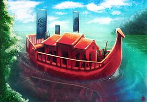 20190530 [L5R] Boat