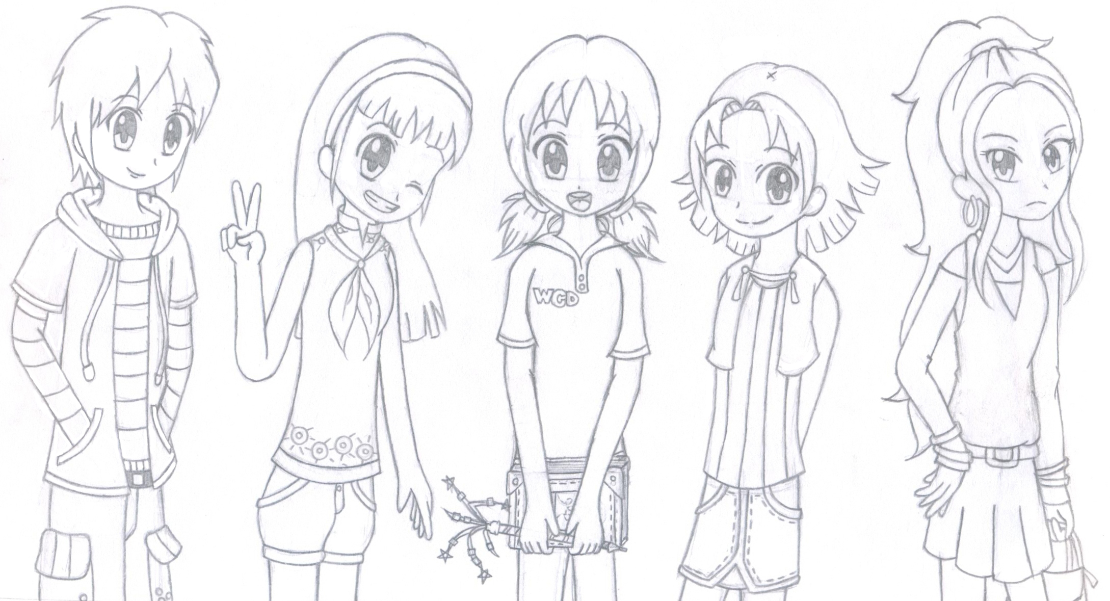 Dork Diaries Anime Style By SonicFreak25 On DeviantArt