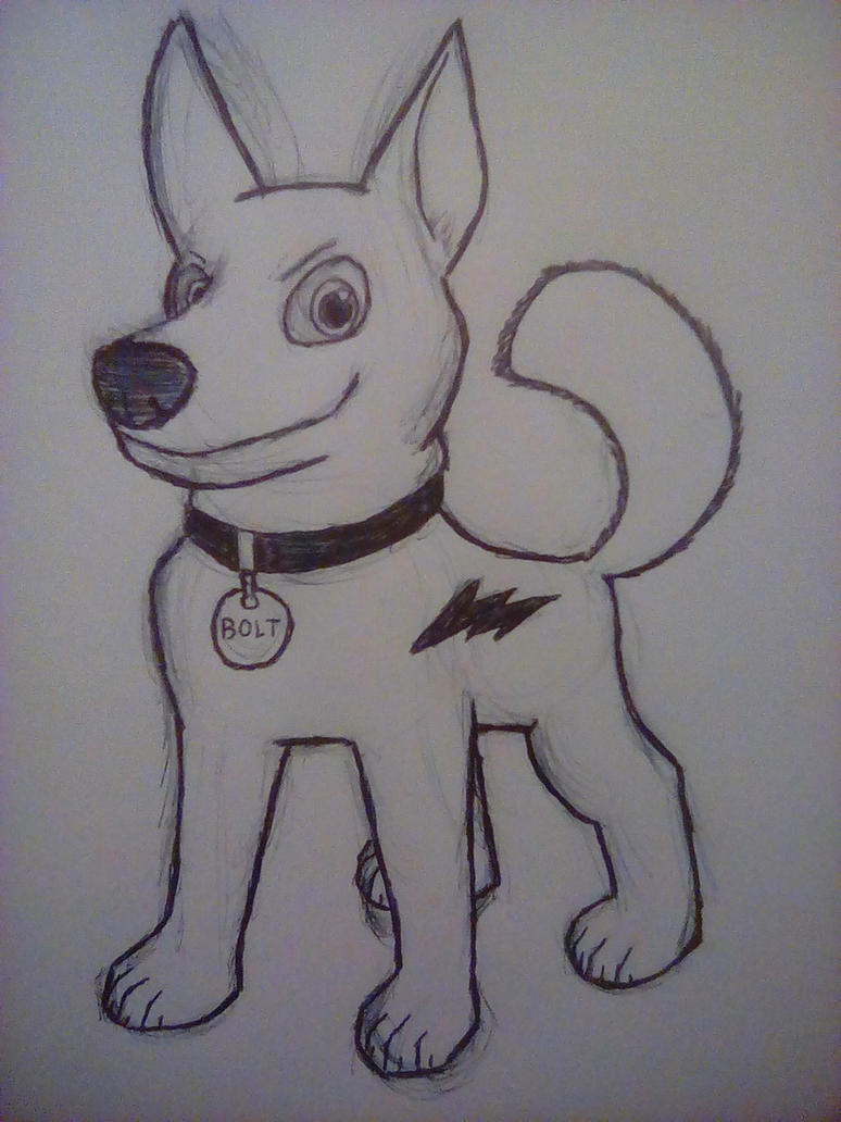 Bolt the Dog by PKstarship