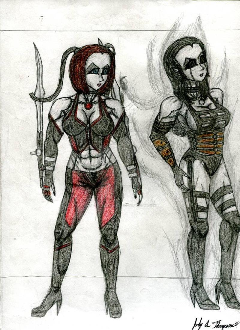 Vixens of BloodRayne by MrDarksMayhem-B