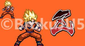 Son Goku PixelArt