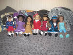 All of my Dolls