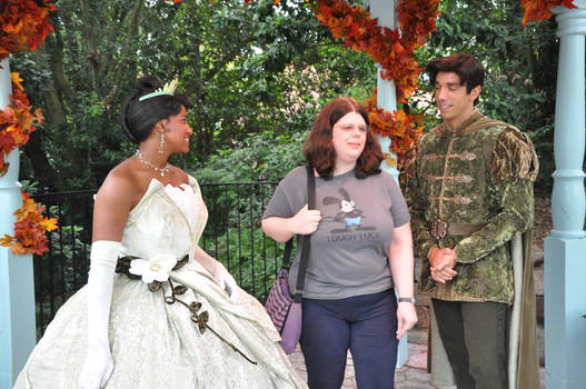 Another shot of Tiana and Naveen