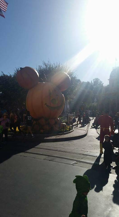 Mickey Pumpkin  by PrincessCarol