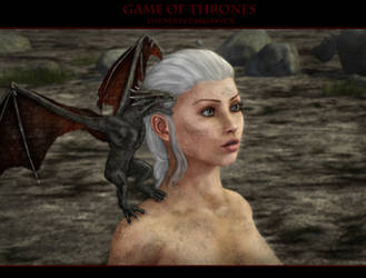 Game of thrones - Daenerys Targaryen by MinayasStudio