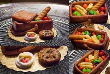 Edible Art: Picnic basket