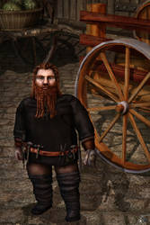 Commission: Rpg-character - Dwarf by MinayasStudio